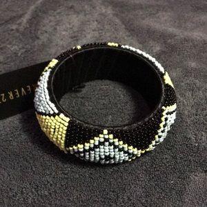 Bead work bracelet